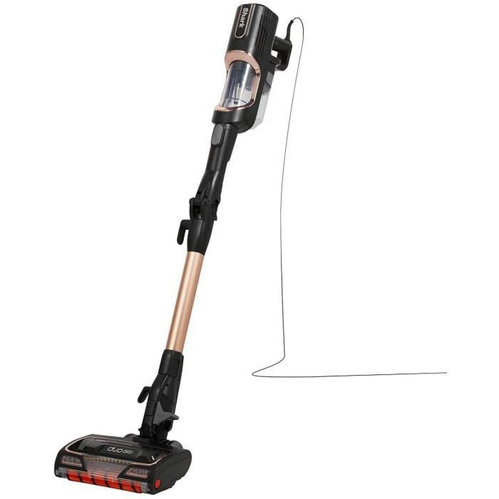 ASPIRATEUR BALAI Shark [HZ500EUT] Corded Stick Vacuum, Or rose, 450 W, 0,3 l, 80 d&eacutecibels147