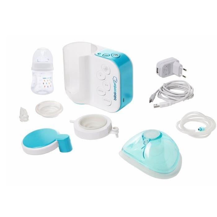 BEBE CONFORT Maternity Tire lait électrique - Obturateur - Boite Stérilisation micro-onde - Biberon -140 ml