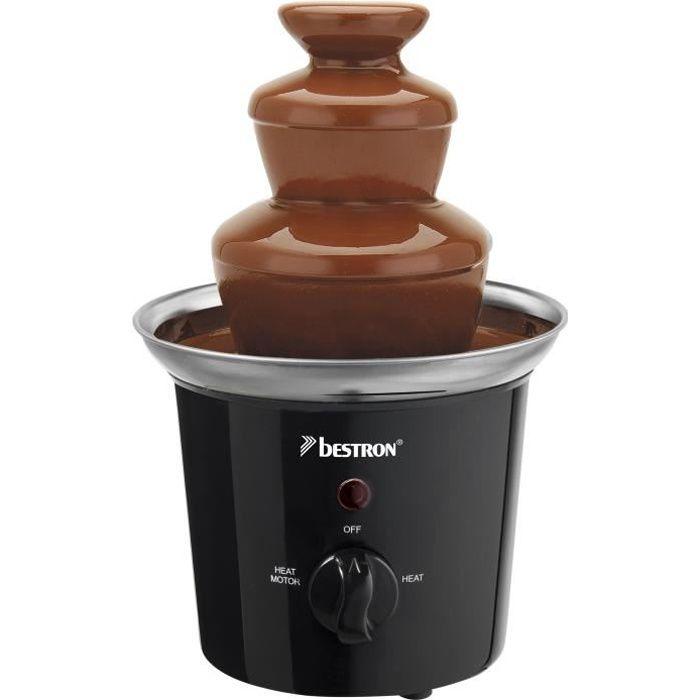 BESTRON Fontaine à chocolat électrique - Capacité 300 g - 60W