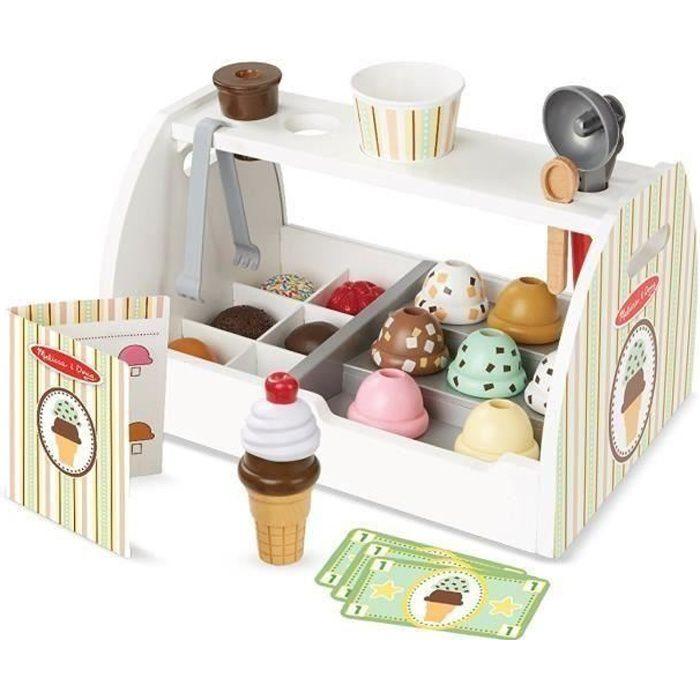MELISSA & DOUG Comptoir À Crème Glacée En Bois