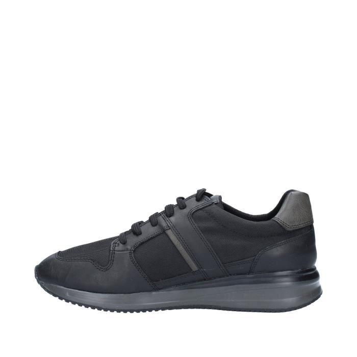 Geox U820GA4311 chaussures de tennis faible homme NOIR