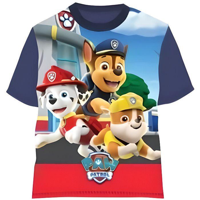 Kidparadise T-Shirt Pat Patrouille 100% Coton
