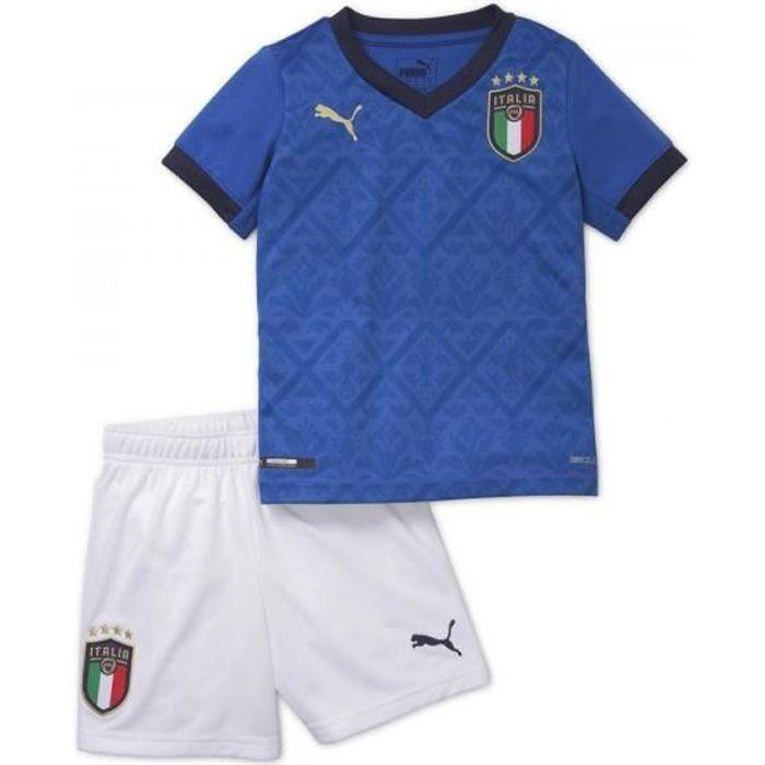 Maillot de Foot Italie 2020 2021 Pas Cher Kit Enfant Garçon