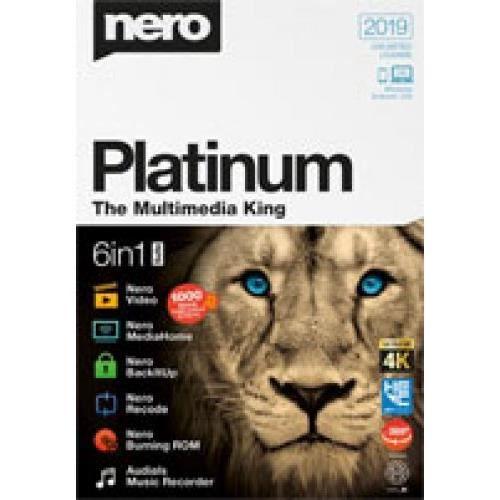 Logiciel Photo Video Nero Platinum 2019 (Code Steam en téléchargement)