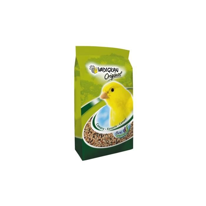 VADIGRAN Mélange de graines pour Canari ORIGINAL 1kg
