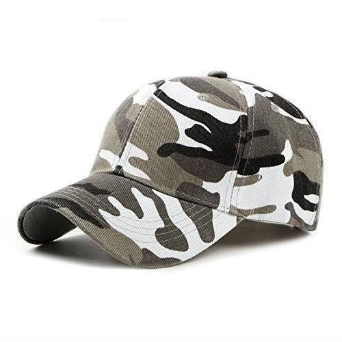 Homme Casquette de Camouflage de Style Militaire Casquette de Baseball Réglable pour Les Activités de Plein Air Escalade Chass@M1298