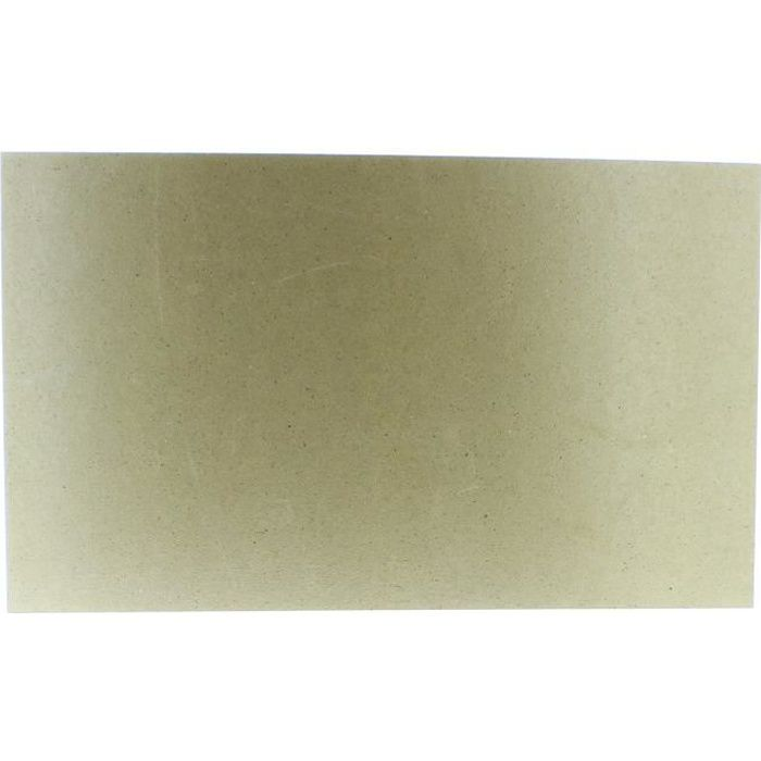 Plaque MICA 500 x 300 mm pour Micro-ondes