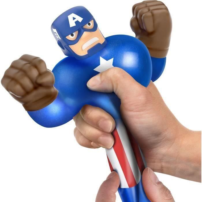 SHOT CASE - Goo Jit Zu Marvel - 41135 - Figurine 11cm Captain America
