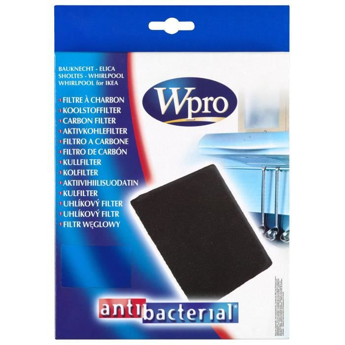 WPRO CFW020B Filtre charbon pour hotte