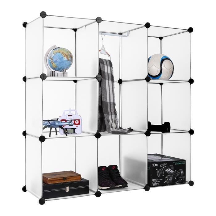 cube rangement modulable avec porte achat vente cube. Black Bedroom Furniture Sets. Home Design Ideas