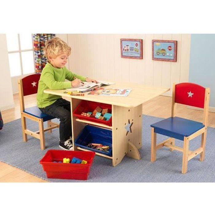 table pupitre bureau avec chaises en bois enfant achat vente bureau b b enfant cdiscount. Black Bedroom Furniture Sets. Home Design Ideas