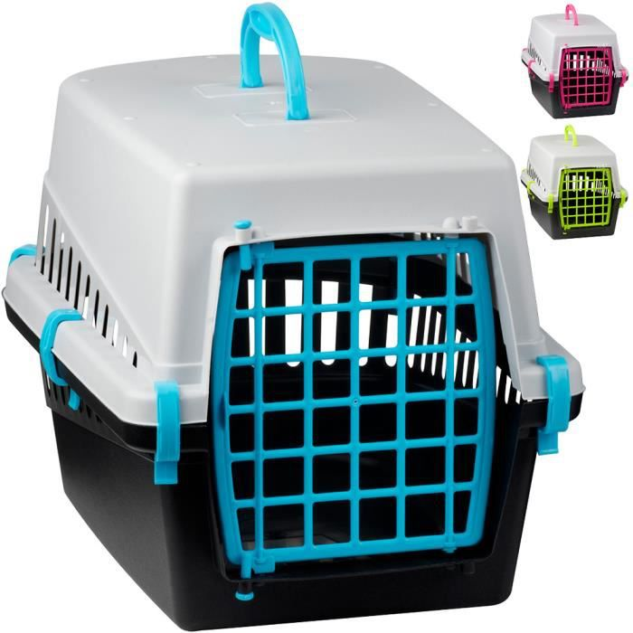 cage de transport pour chien et chat 50x33x32 achat vente caisse de transport cage de. Black Bedroom Furniture Sets. Home Design Ideas