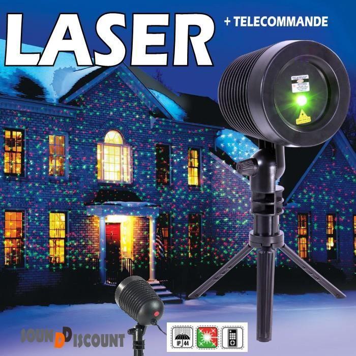 Eclairage exterieur laser