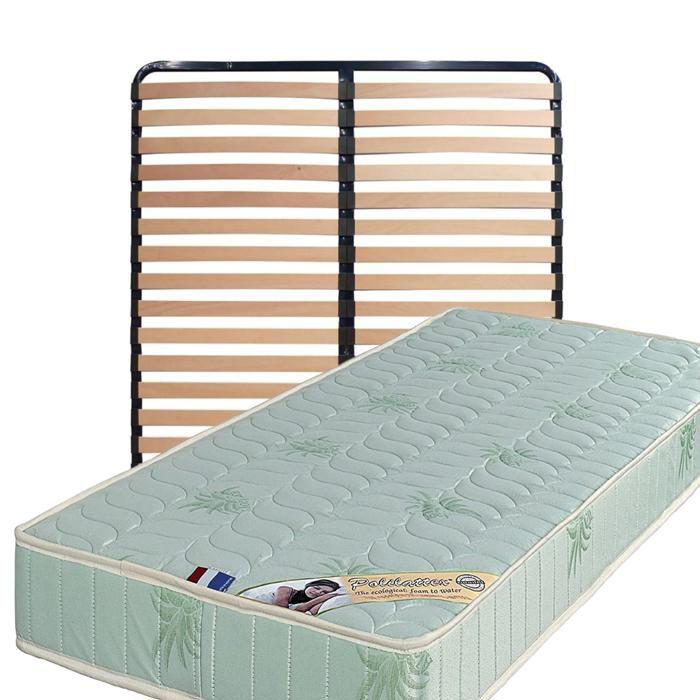 MATELAS Matelas 140x200 + Sommier Démonté + pieds + Oreill