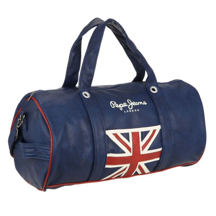 pepe jeans sac de sport homme sarria bleu achat vente sac de sport pepe jeans sac de sport. Black Bedroom Furniture Sets. Home Design Ideas