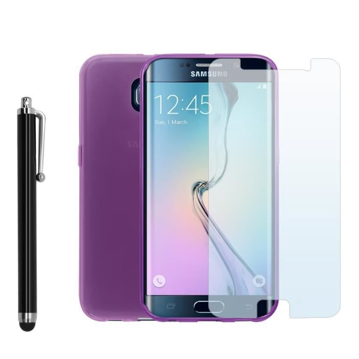 coque samsung galaxy s6 edge violet