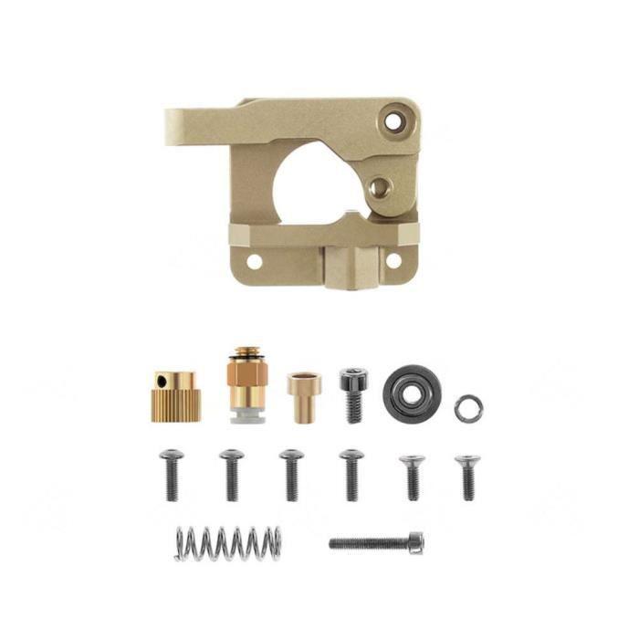 Ender5//Plus CR-10 V2 CR-10S Pro Creality MK8 Extrudeuse Bowden en alliage 1,75 mm Filament pour Ender3//Pro