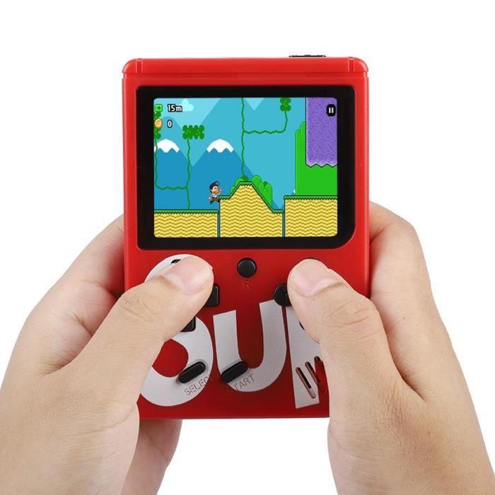 CONSOLE RÉTRO Sup X Console de jeu Game Box portable Écran TFT--