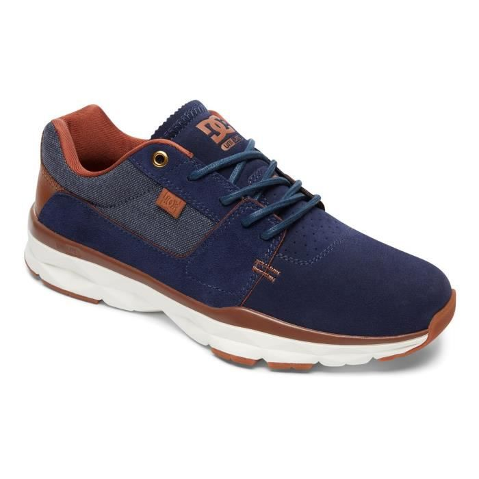 Chaussures DC SHOES PLAYER SE Navy blue white (nav)