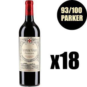 VIN ROUGE X18 Château Gazin 2015 75 cl AOC Pomerol Vin Rouge
