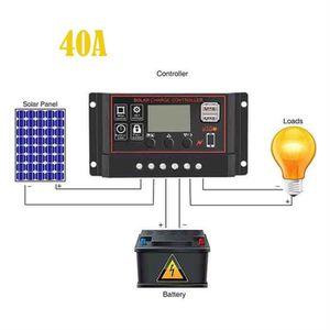 Régulateur de charge solaire Steca Solaris 4040 12//24VDC 40 A LCD Affichage IP32