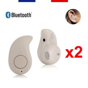 OREILLETTE BLUETOOTH NEW 2018 2 x MINI OREILLETTE UNIVERSELLE BLUETOOTH