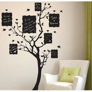 Deco Soon Stickers Ardoise Arbre à Message Achat Vente