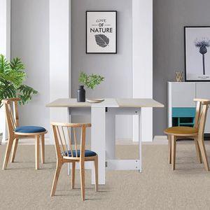 TABLE À MANGER SEULE Firnose Table à manger extensible de 6 à 8 personn