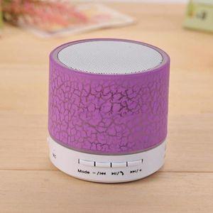 ENCEINTE NOMADE Enceinte Bluetooth,Beau LED Sans fil enceinte blue