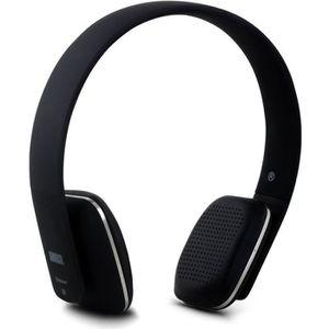 CASQUE - ÉCOUTEURS Casque Bluetooth Sans Fil – August EP636 – Micro,