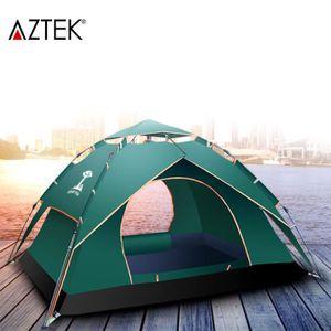 TENTE DE CAMPING AZTEK® Tente de camping famille pour 3 à 4 personn