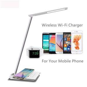 LAMPE A POSER Lampe de bureau LED Tactile Avec Chargeur sans fil