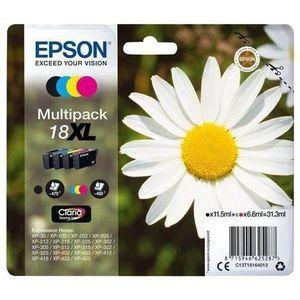 CARTOUCHE IMPRIMANTE EPSON Multipack T1806 - Pâquerette - Noir, Cyan, M