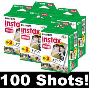 PACK ACCESSOIRES PHOTO Fujifilm Instax Mini Film - Lot de 5x 20 films pou