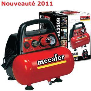 COMPRESSEUR Mécafer  Compresseur 6 litres 1.5Hp - New Vento