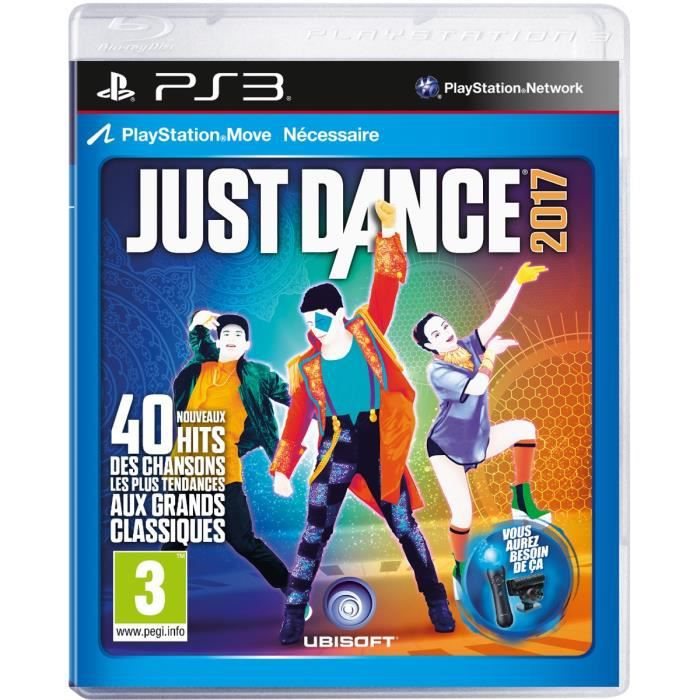 Just Dance 2017 - Jeu PS3