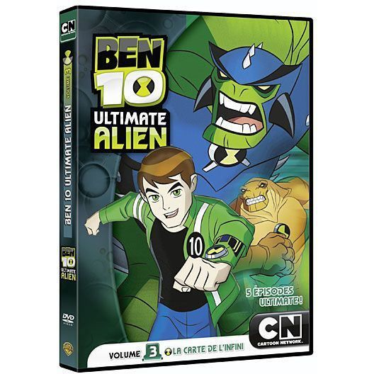 Ben 10 ultimate alien season 1 dvd / Shining hearts episode