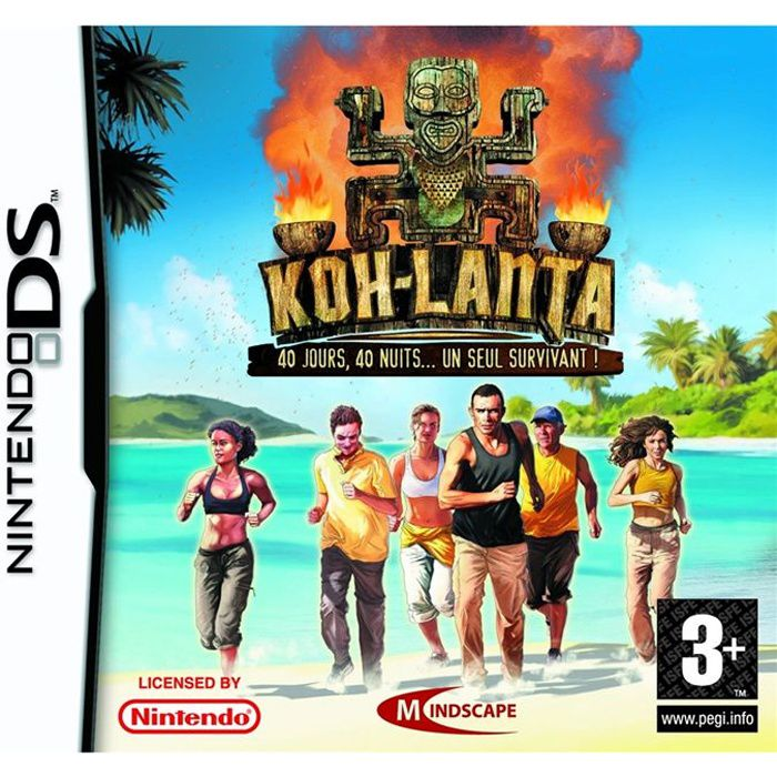 koh lanta jeu console nintendo ds achat vente jeu ds dsi koh lanta nds cdiscount. Black Bedroom Furniture Sets. Home Design Ideas