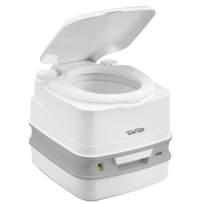 Thetford Porta Potti 335 Marine Toilet w-Hold Down Kit