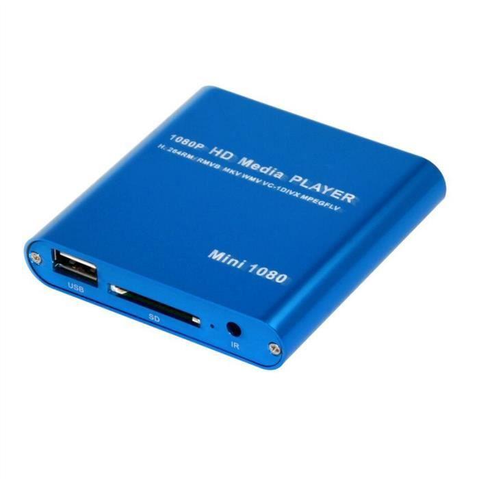 MP021-F10 Mini Full HD 1080P numérique en streaming Media Player