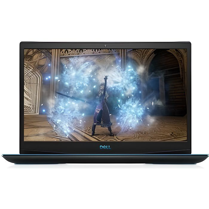 DELL Gaming G3 15-3500 - Ordinateur Portable 15'6- - Intel Core i5 - 8Go RAM - 256Go SSD - Nvidia GF GTX 1650 - Windows 10