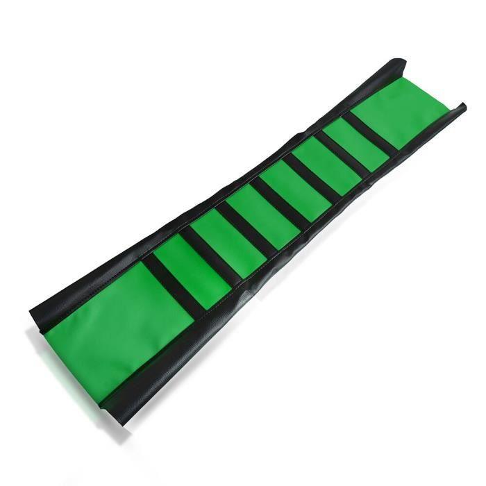 green -Housse de siège souple en caoutchouc pour moto, accessoires pour Kawasaki KSR KX 50 65 80 85 100 110 125 250 450 500 F pour y
