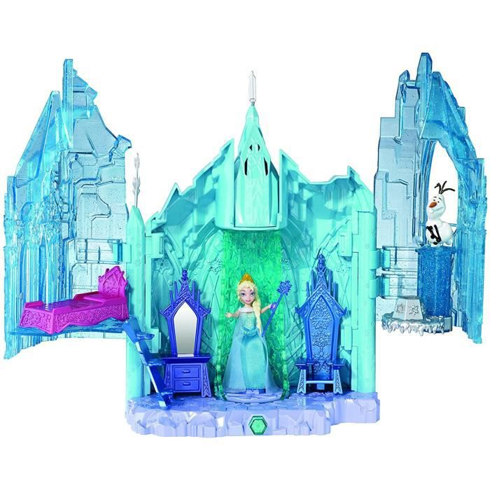 Coffrets de poupées et accessoires Disney Princesses Bdk38 - Maison De Poupée - La Reine des Neiges - Le Château De Glac 323841