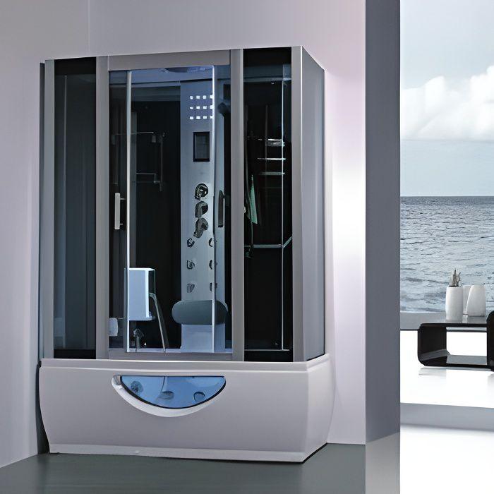 Balneo cabine de douche Hammam 167x85 full options