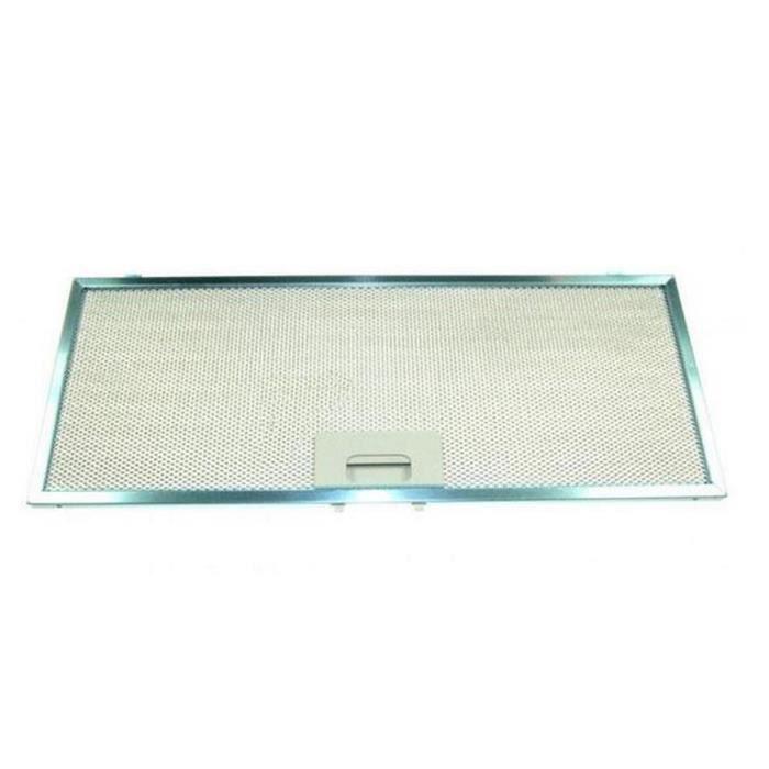 Filtre métal antigraisses (200582-7064) - Hotte - ELECTROLUX, ARTHUR MARTIN ELECTROLUX, FAURE (14423)