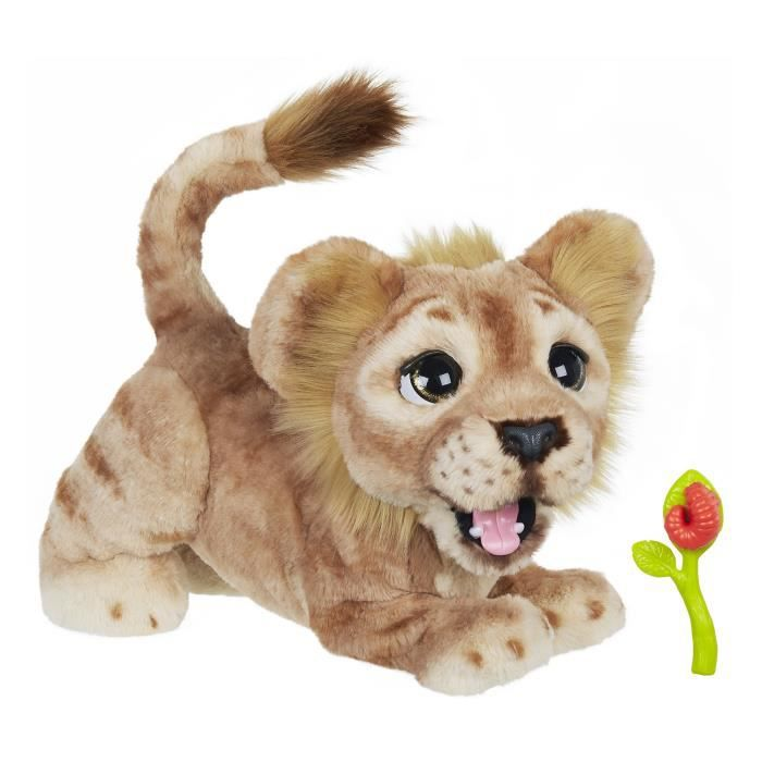 FurReal Friends - Peluche Interactive Simba Rugissant - Disney : Le Roi Lion