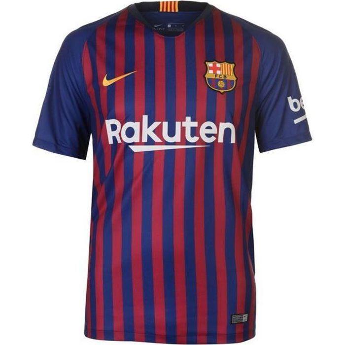 Maillot Homme Nike FC Barcelone Domicile Saison 2018-2019