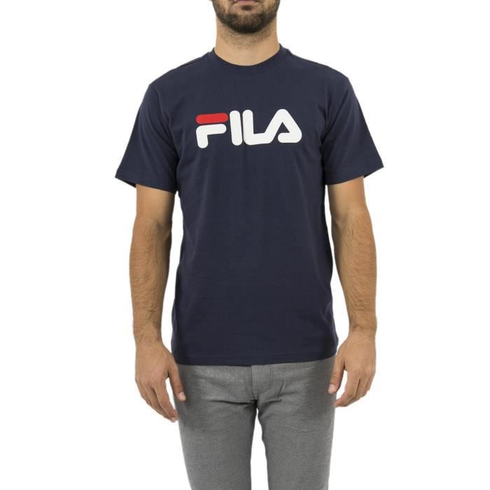 FILA T-Shirt Pure Homme Bleu Marine
