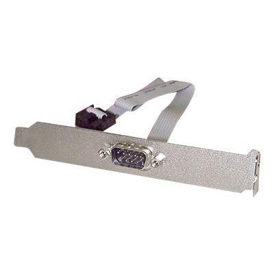 Startech.Com Plaque série mâle 9 broches vers connecteur interne de carte mère 10 broches Panneau série 41 cm