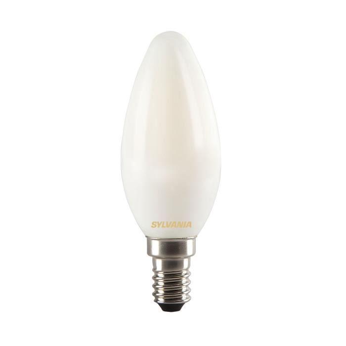 SYLVANIA Ampoule LED à filament Toledo RT Candle E14 4W équivalence 35W